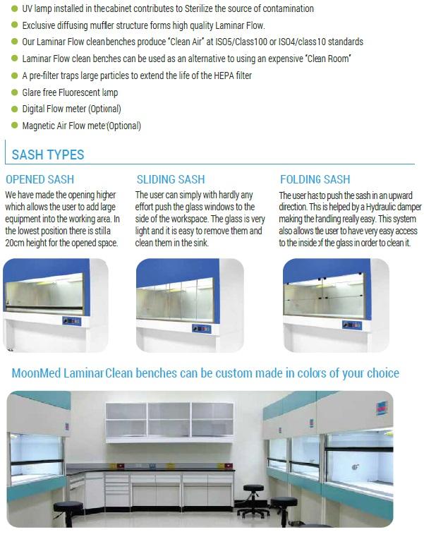 Laminar Flow Model MO-HF series